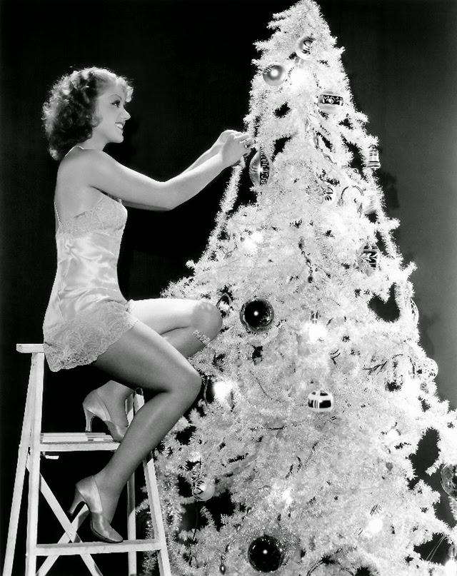 grace bradley - Vintage Christmas Photos