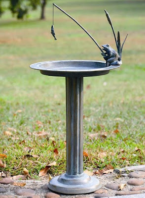 Bird Baths are a great way to attract nature to your yard