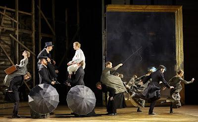 Garsington Opera 2016 - Tchaikovsky: Eugene Onegin - Roderick Williams, Oleksiy Palchykov  (Photo Mark Douet)
