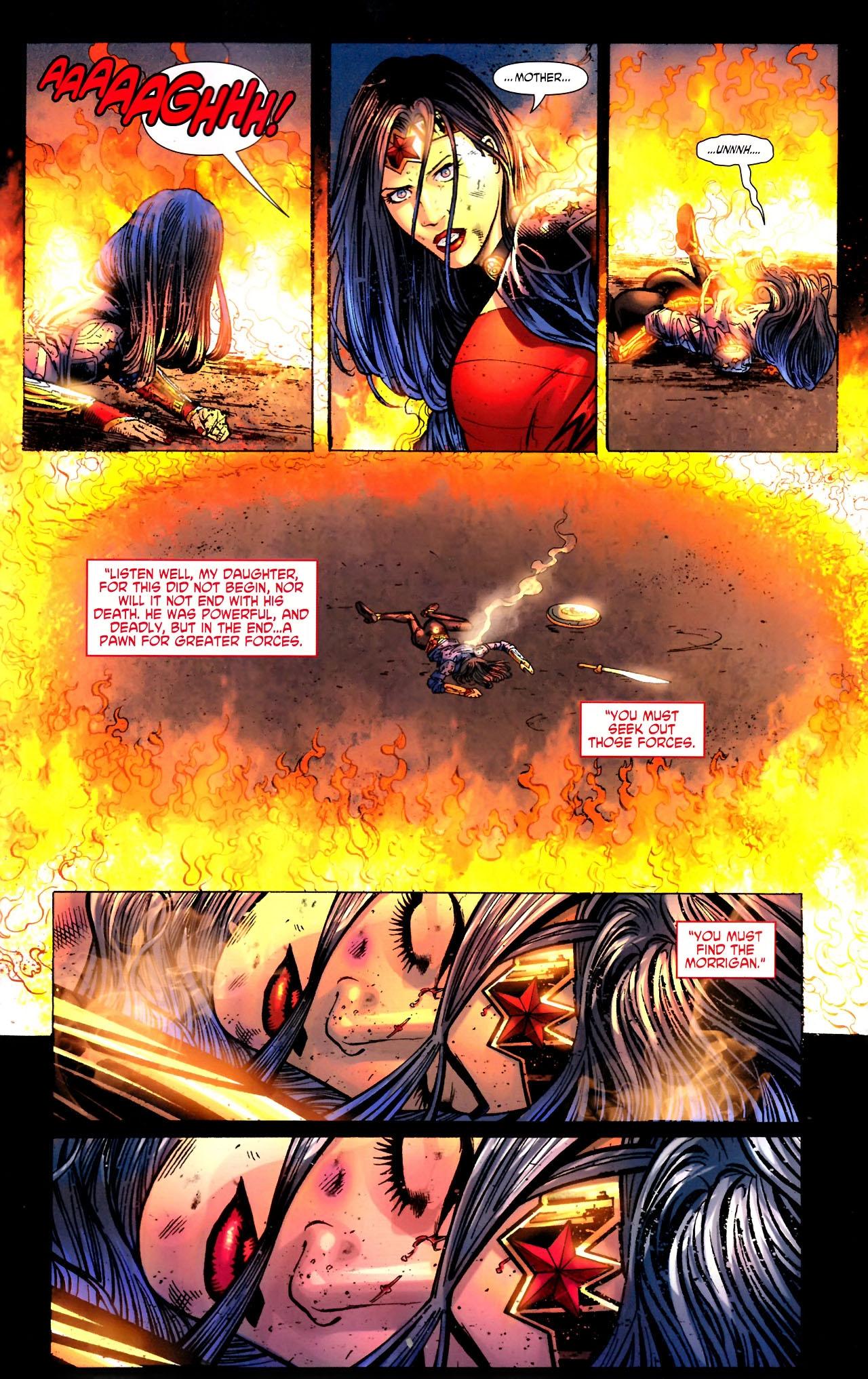 Read online Wonder Woman (2006) comic -  Issue #604 - 15