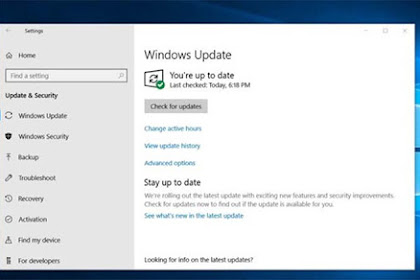 Pembaruan Kumulatif .NET Framework Windows 10 Telah Dirilis Dengan Kode KB4481031