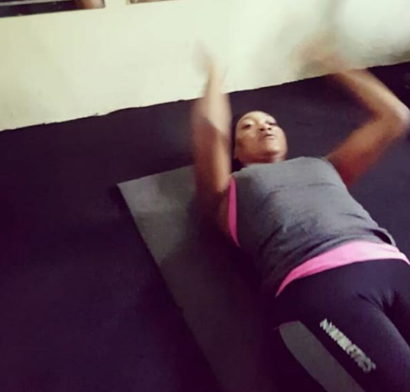 Oh no! Oge Okoye flashes her womanliness in Instagram video