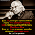 A.P.J Abdul Kalam Most Popular best Inspirational Quotes.