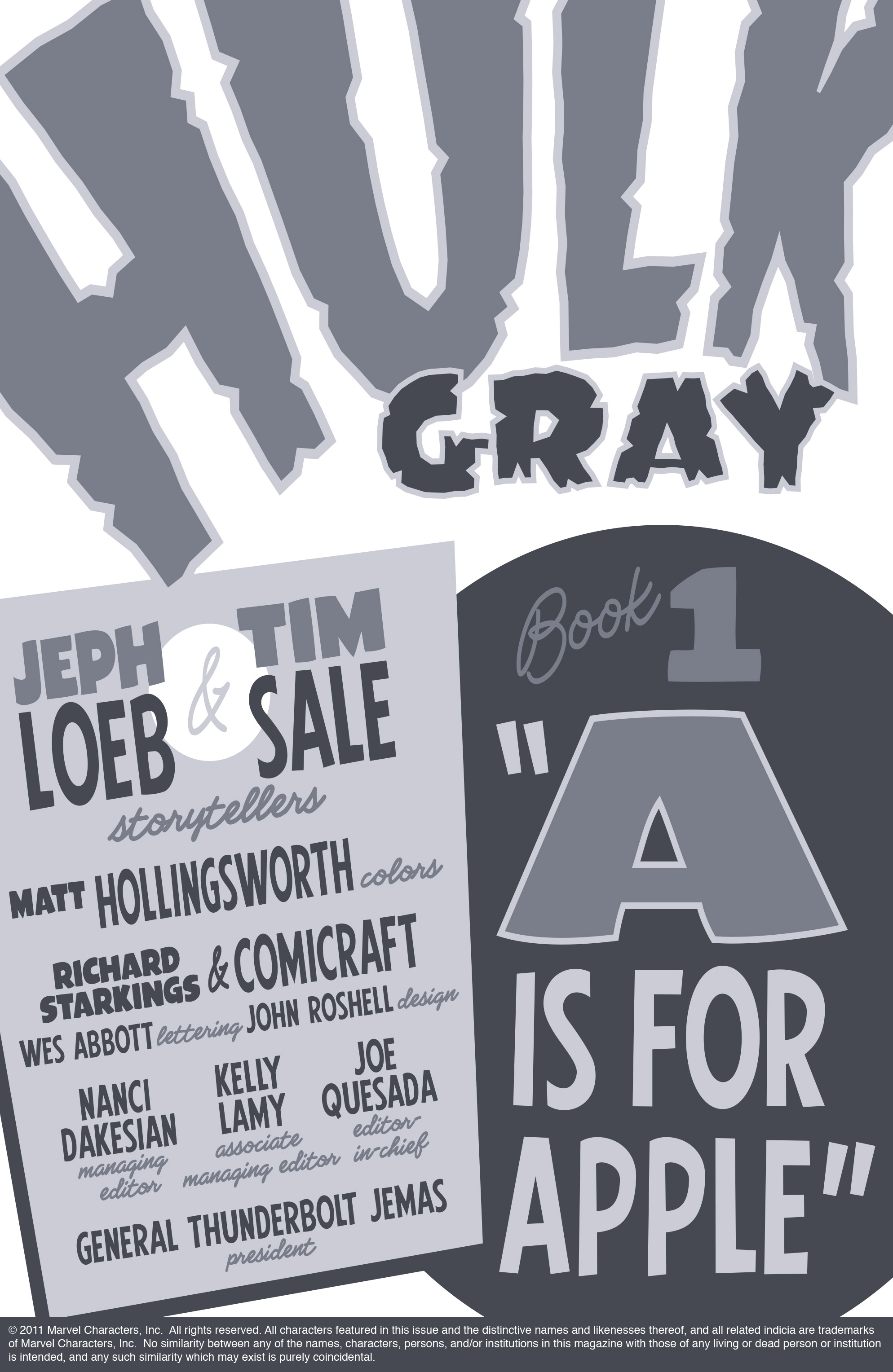 Read online Hulk: Gray comic -  Issue #1 - 2