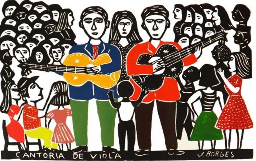 Cantoria de viola - J Borges
