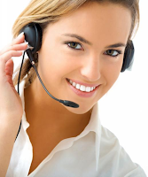 Femal Call Center Agent