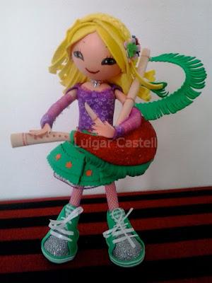Muñeca con gaita