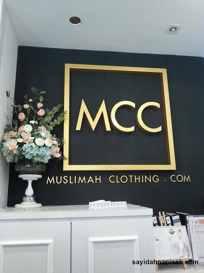 rasa tak nak keluar je dari Butik MuslimahClothing.Com (MCC)