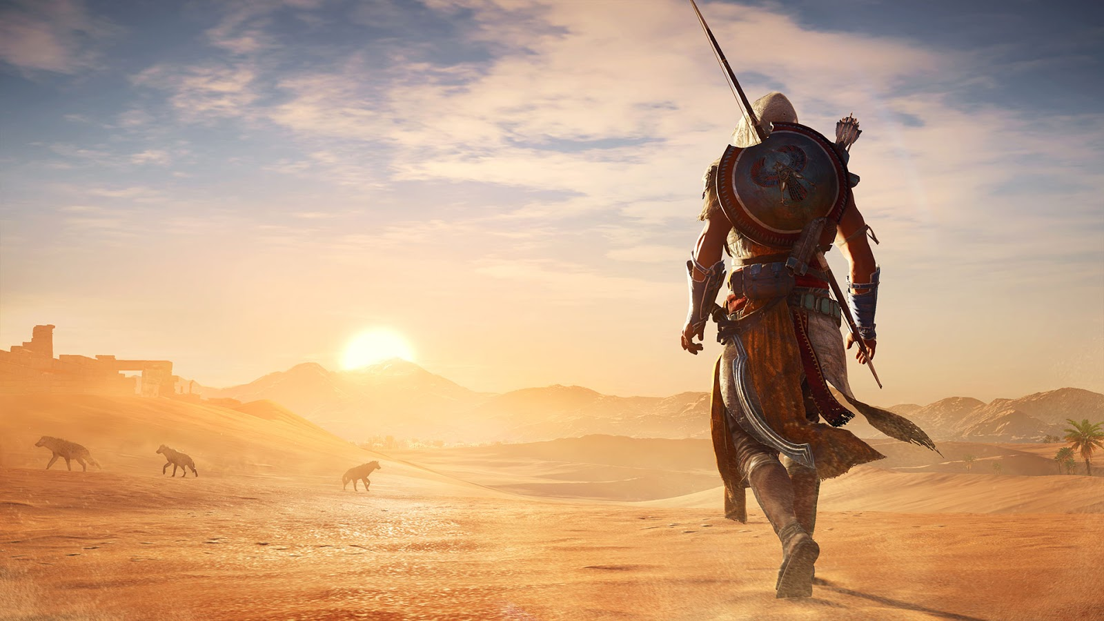 Ryan M. Holt: First Impressions – Assassin's Creed Origins