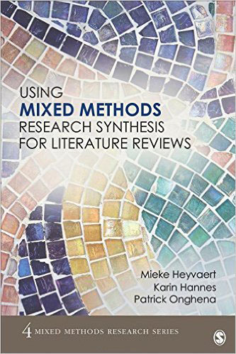 mixed methods research literature review By including diverse forms of evidence from different types of research, mixed methods reviews attempt to maximize the findings—and the ability of those findings to inform policy and practice methods for mixed methods reviews are still emergent: there are a number of approaches described in literature, and most emerging.