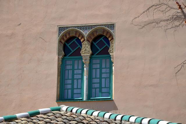 Arabskie łuki w Granadzie