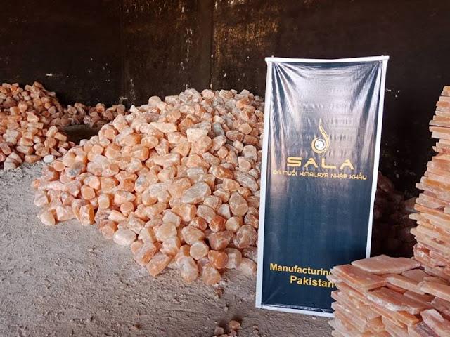 Kho sản xuất đá muối