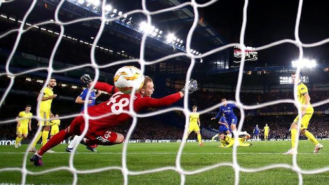 Hasil Liga Europa: Chelsea Benamkan BATE 3-1