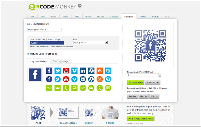 3 powerful qr code generator apps for chrome users educational qrcode monkey lets you create all kinds of qr codes and personalize them with logo images and color options you can generate qr codes for data types like reheart Images