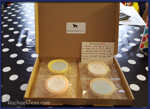 There are currently 12 magnificent scents to choose from, each costing £1.19 - an absolute bargain!  Once you have purchased your wax melts, these will be sent out in a beautiful box and a personalised note from Paul & Affi, after all, the company is very much about the personal touch!