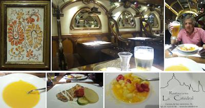 Madrid; Viagem Europa; Turismo na Espanha; Restaurante e Cafeteria La Catedral