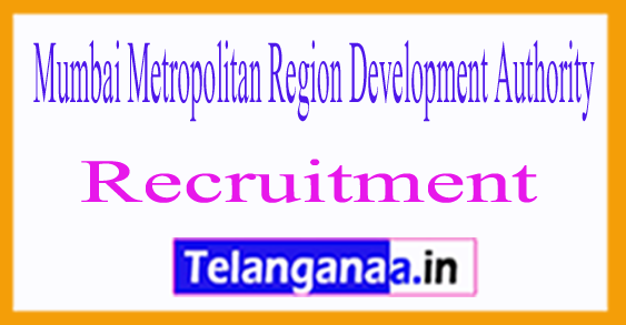 Mumbai Metropolitan Region Development Authority MMRDA Recruitment Notification 2017