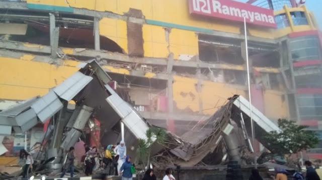 Gempa 7,7 Sr Mengguncangkan Wilayah Donggala Sulawesi Tengah