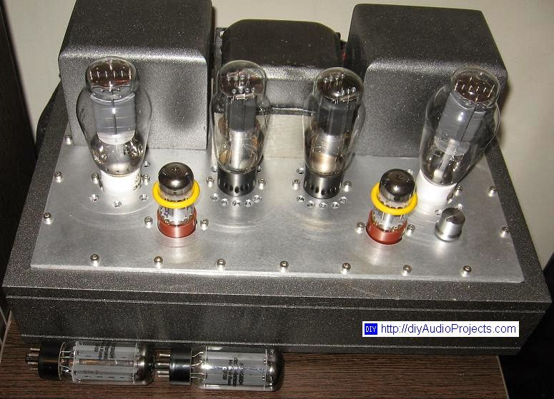 DIY 300B Single-Ended-Triode Hi-Fi Amplifier