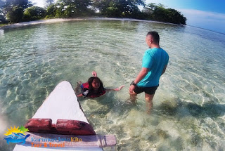 air jernih pulau cemara kecil karimunjawa