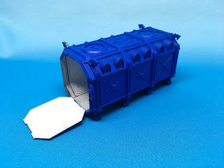 Royal Blue Container