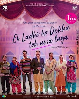 Ek Ladki Ko Dekha Toh Aisa Laga (ELKDTAL) First Look Poster 8