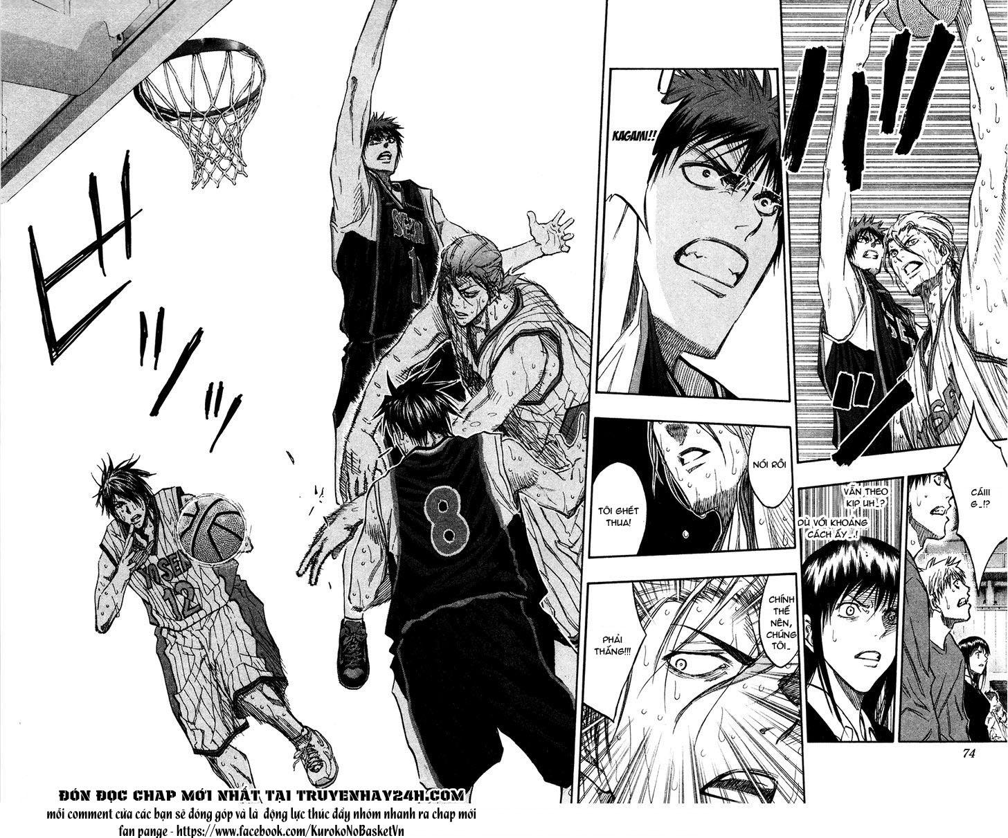Kuroko No Basket chap 166 trang 8