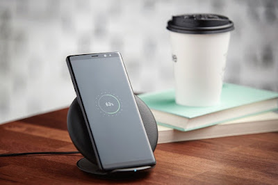 Things Galaxy Note8 wireless charging