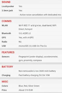 Oppo K1 धमाकेदार फीचर्स और ऑफर्स