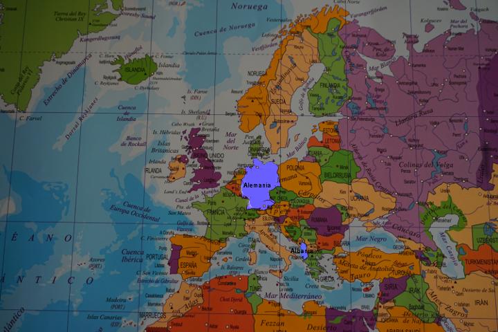 Menú de Europa