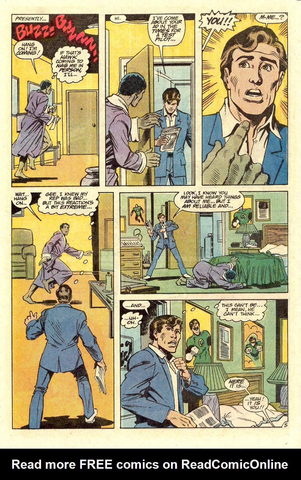 Read online Secret Origins (1986) comic -  Issue #36 - 6