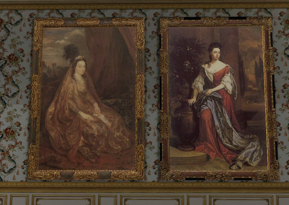 Large 17th Century Paintings Set 1 For TS2
