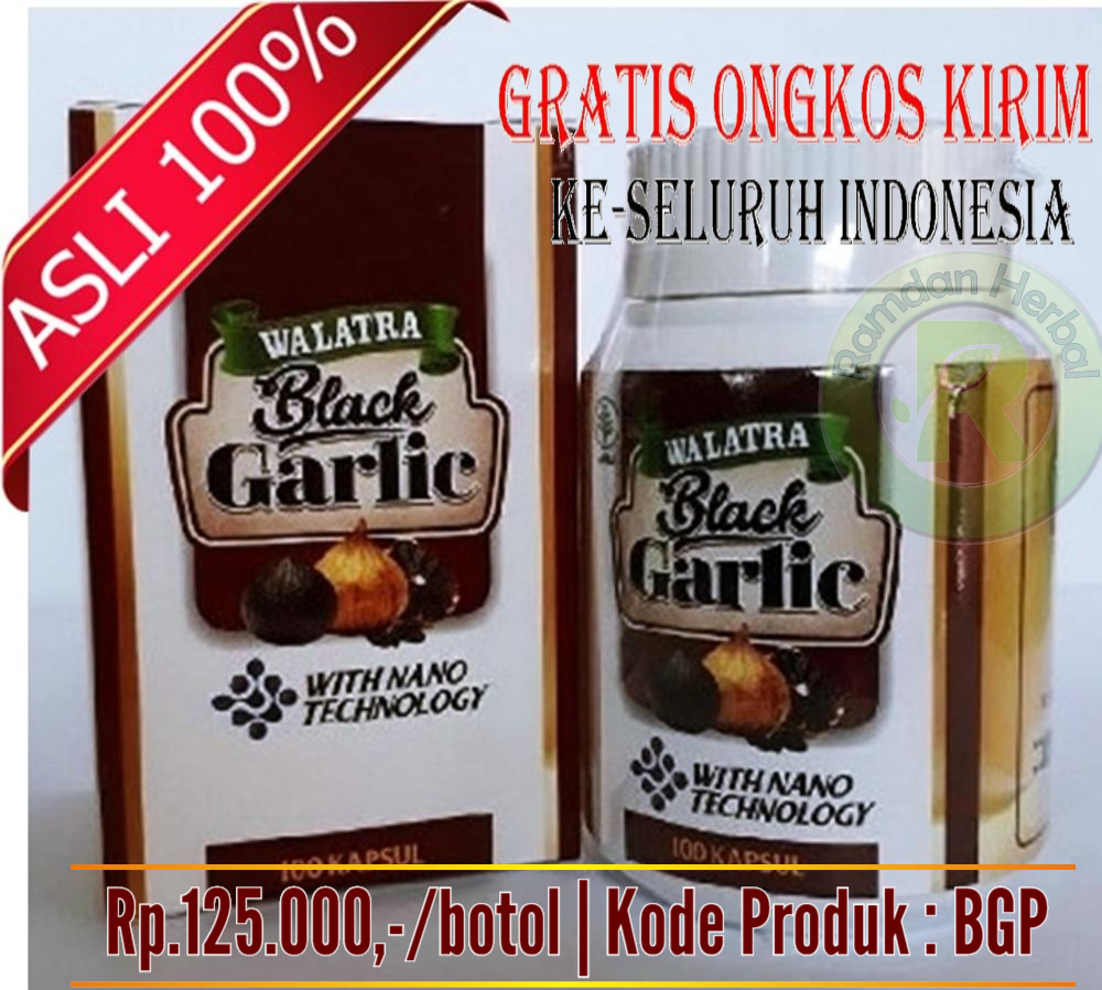 Khasiat Walatra Black Garlic Asli