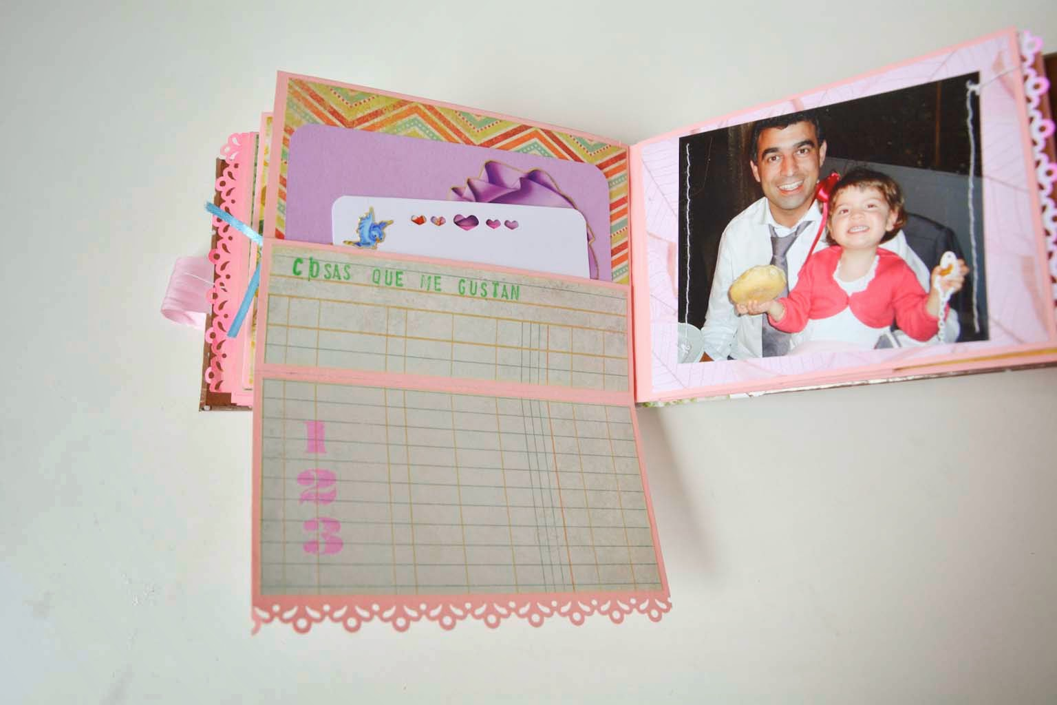Mini Álbum Scrapbook