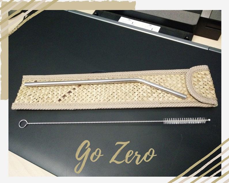 Go Zero Reusable Straw