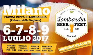 Lombardia Beer Fest dal 6 al 9 luglio Milano