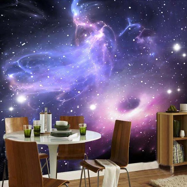 Space Wall Mural Photo Wallpaper 3D