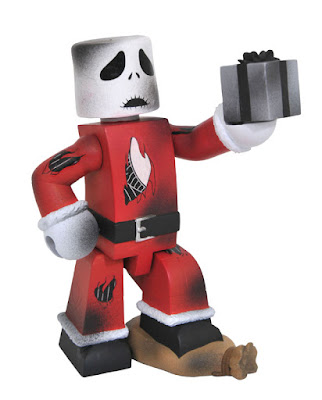 San Diego Comic-Con 2017 Exclusive Nightmare Before Christmas Battle Damaged Santa Jack Vinimate Vinyl Figure by Diamond Select Toys