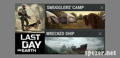 Event Smuggler's Camp dan Wracked Ship