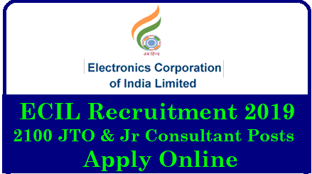 ECIL Recruitment 2019: Apply Online For 2100 JTO & Jr Consultant Posts ECIL Recruitment 2019 | ECIL Recruitment 2019 – Apply Online for 2100 Jr Technical Officer & Consultant Posts | ECIL Recruitment 2019 – Apply Online for 2100 Jr Technical Officer & Consultant Posts | ECIL Recruitment 2019 – 2100 JTO Posts | Apply Online | ECIL Recruitment 2019, 2100 JTO & Various Job Vacancies, Apply Online @ www.ecil.co.in | ECIL Recruitment 2019: Apply Online For 2100 JTO & Jr Consultant Posts | ECIL JTO & JC Recruitment 2019 – 2100 Vacancies Open | ECIL JTO & JC Recruitment 2019 – Apply Online for 2100 Jr Technical Officer & Jr Consultant Posts @ www.ecil.co.in | ECIL Recruitment 2019 for 2100 JTO and Jr Consultant Posts Notification Issued, Apply @ecil.co.in | ECIL-Recruitment-notification-2019-apply-online-for-2100-JTO_Junior-consultant-posts-ecil.co.in/2018/12/ECIL-Recruitment-notification-2019-apply-online-for-2100-JTOJunior-consultant-posts-ecil.co.in.html