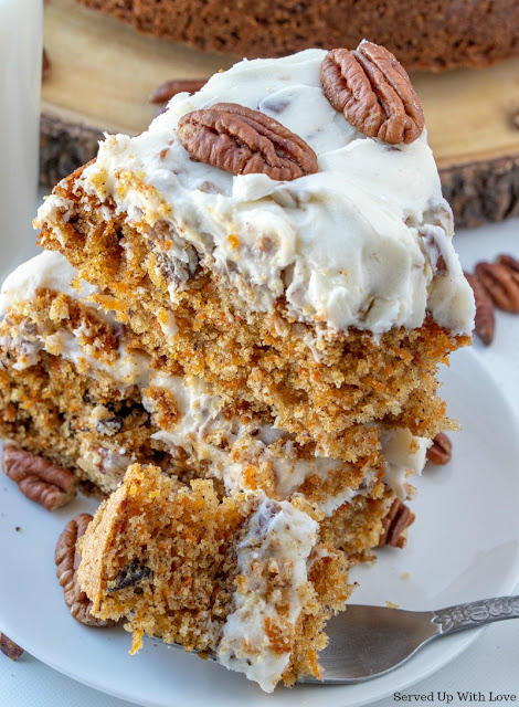 Easy recipe Carrot Cake from Served Up With Love