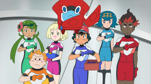 Pokemon Sol y Luna Capitulo 61 Temporada 20 A partir, Nuestros ultra guardianes