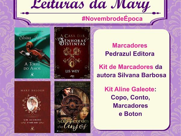 Sorteio - Aniversário do Leituras da Mary #NovembrdeÉpoca