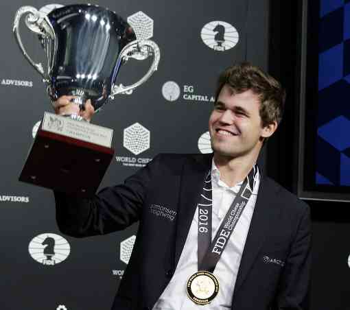 Magnus Carlsen conserve son titre de champion du monde d'échecs à New York - Photo © Justin Lane