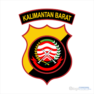 Polda Kalimantan Barat Logo vector (.cdr)