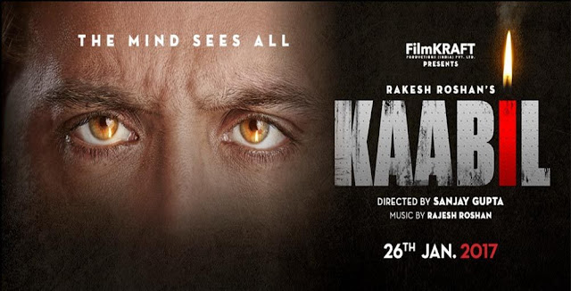 Kaabil , Kaabil poster, Kaabil first look , Kaabil Hrithik Roshan, Kaabil Yami Gautam, Kaabil pictures, Kaabil pics