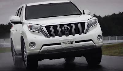 Toyota Land Cruiser Prado SUV Vehicle