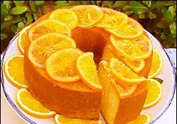 كيكة البرتقال والزبادى اللذيذة بالتفاصيل والصور cake recipe