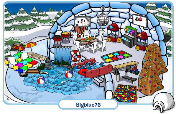 Club Penguin Cheats by Mimo777: Club Penguin Featured Igloos!