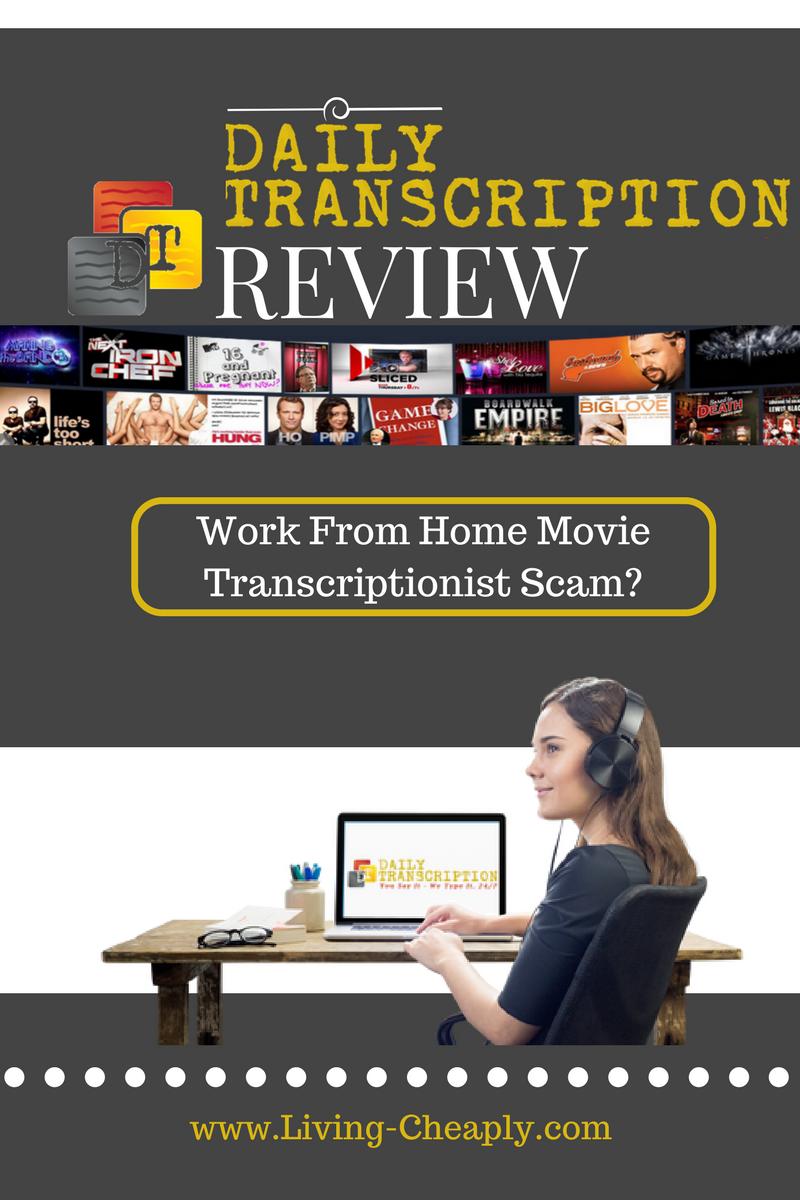 Daily transcription employee reviews